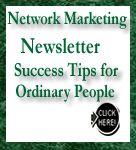 Network Marketing Newlsetter